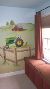 mural suasana peternakan 2