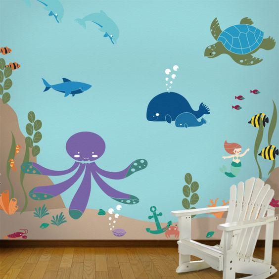 Mural Underwater 10