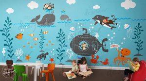 Mural Underwater 3