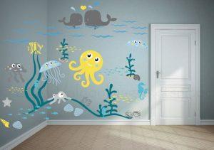 Mural Underwater 6
