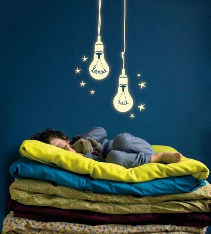 Stiker Dinding Glow in the Dark Untuk Menemani Tidur Malam Anda