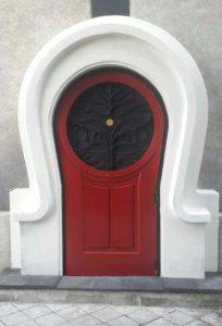 dekorasi pintu