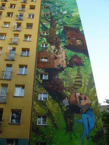 mural di bangunan tinggi 3
