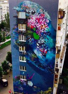 mural di bangunan tinggi 6