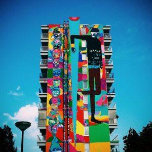 mural di bangunan tinggi 7