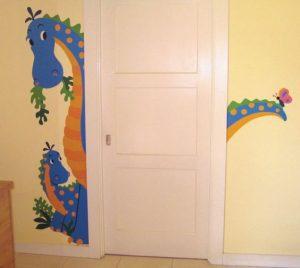 mural dinosaurus 13