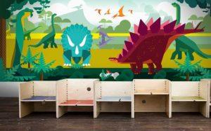 mural dinosaurus 15