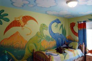 mural dinosaurus 5