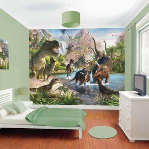 mural dinosaurus 7