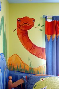 mural dinosaurus 8