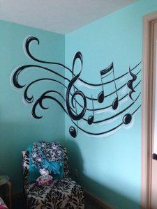 mural musik 2