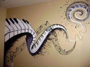 mural musik 4