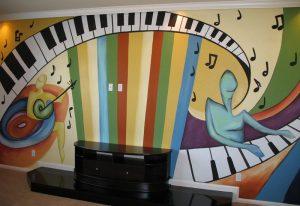 mural musik 5