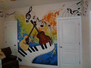 mural musik 6