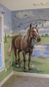 mural suasana peternakan 4