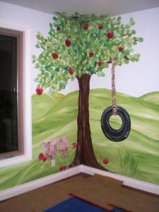mural suasana peternakan 9