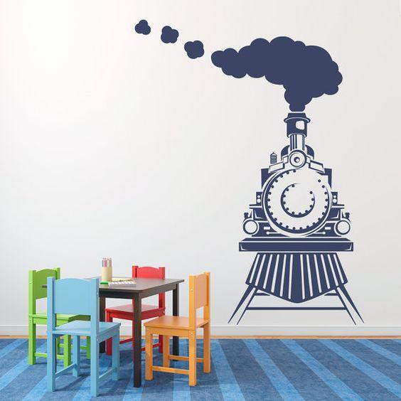 dekorasi kamar bertema kereta api 4