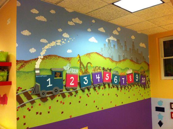 dekorasi kamar bertema kereta api 8