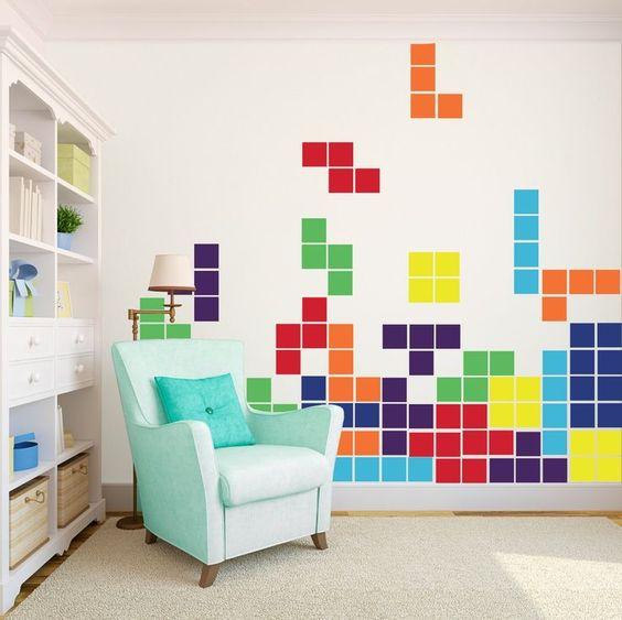 dekorasi kamar bertema video game 2