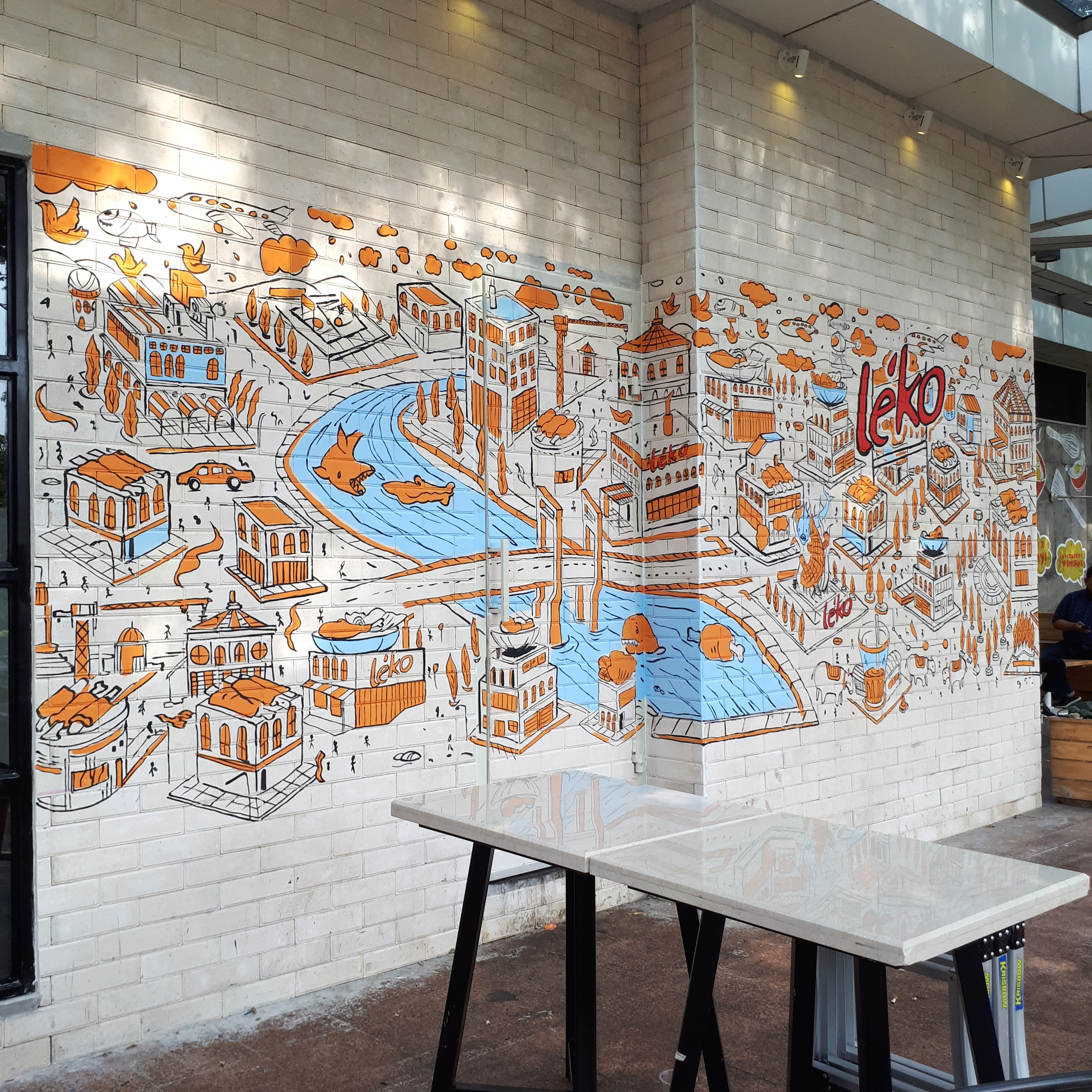 jasa mural tangerang