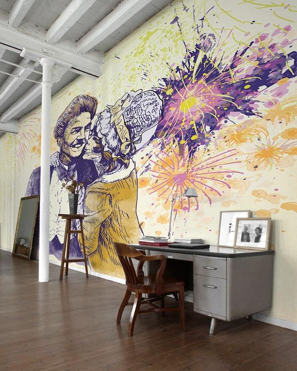 mural tahun baru 2