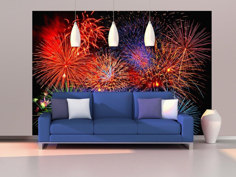 Ide Mural Tahun Baru Sebagai Dekorasi Acara Akhir Tahun