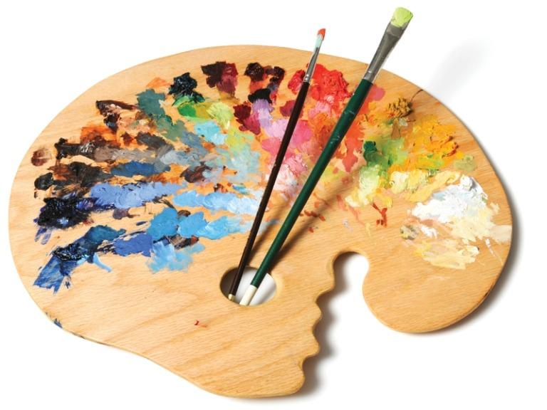 peralatan melukis