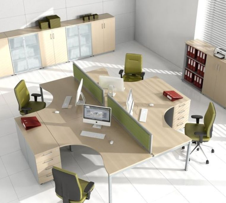 desain kantor tertutup