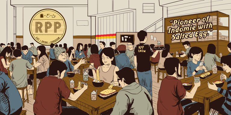 ilustrasi cafe