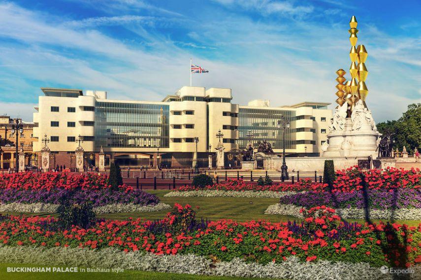 bangunan keren buckingham