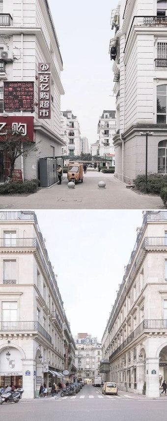 kemiripan bangunan ikonik di perancis dan cina