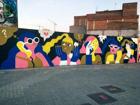 mural sebagai media iklan  dengan target market pengguna jalan