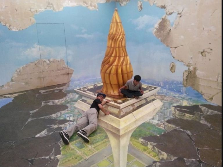 Alive Museum, a 3D Trick Art Museum in Jakarta for You Who Like to Take Photos