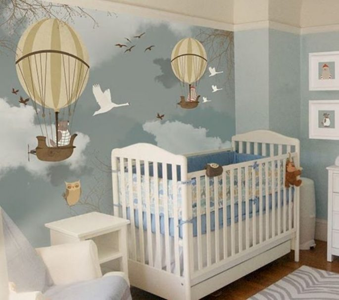 Cute and Unique Decoration for Kid's Room, Kid Will Surely Like It
