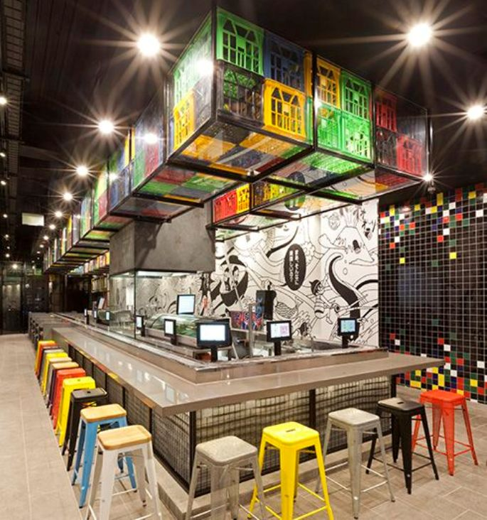 Unique and Interesting Decoration Ideas for Cafe and Restaurant