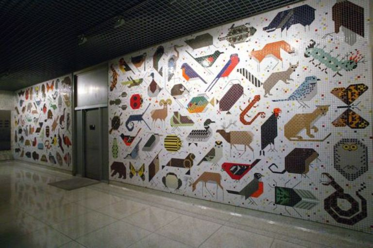 28 Ideas for Mural in Office that can Make the Atmosphere in Your Office more Comfortable (Part 2)