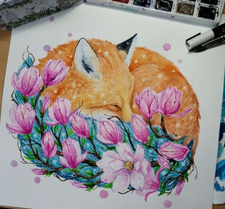 Preserve Nature Through Inspirational Animal Paintings by Joanna Lamminaho