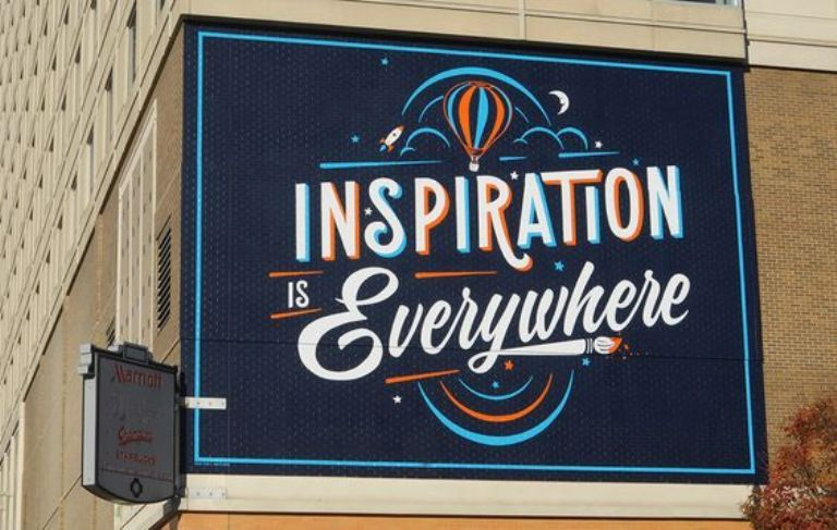 Typography Mural Ideas to Decorate Your Wall and Give Inspirations