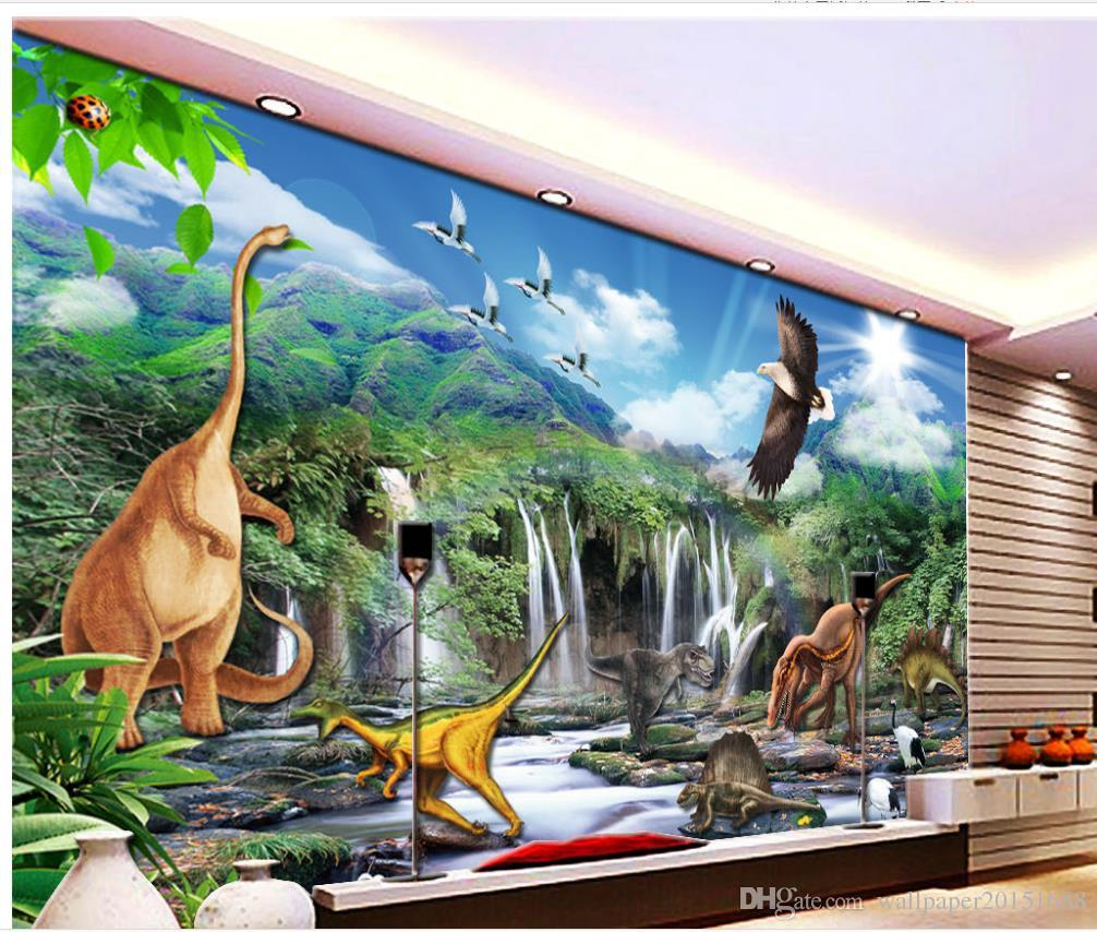 15 Dinosaur Mural Ideas, Number 10 will Surely be Liked by Children!