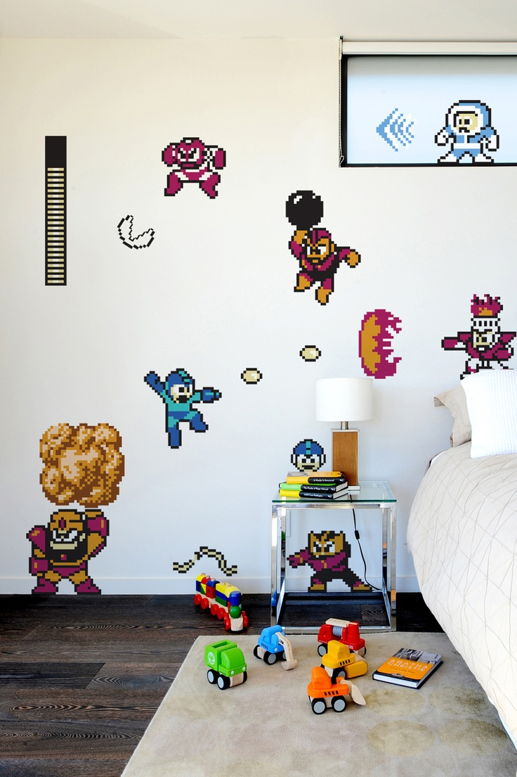 Game Themed Bedroom Decoration For Your Bedroom