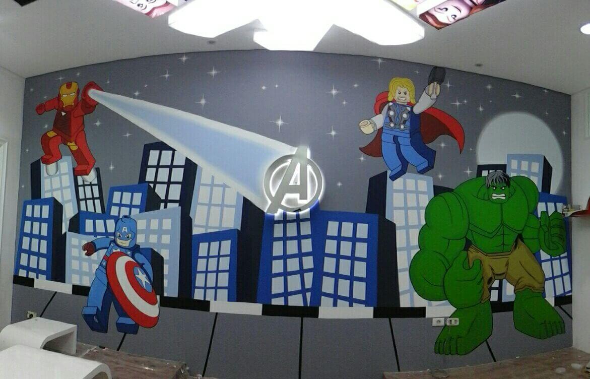 Avengers dan Lego Yang Lucu dan Kuat