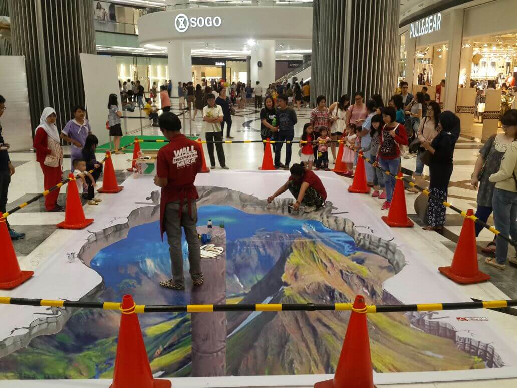 iMural Fest Event at Lippo Mall Puri