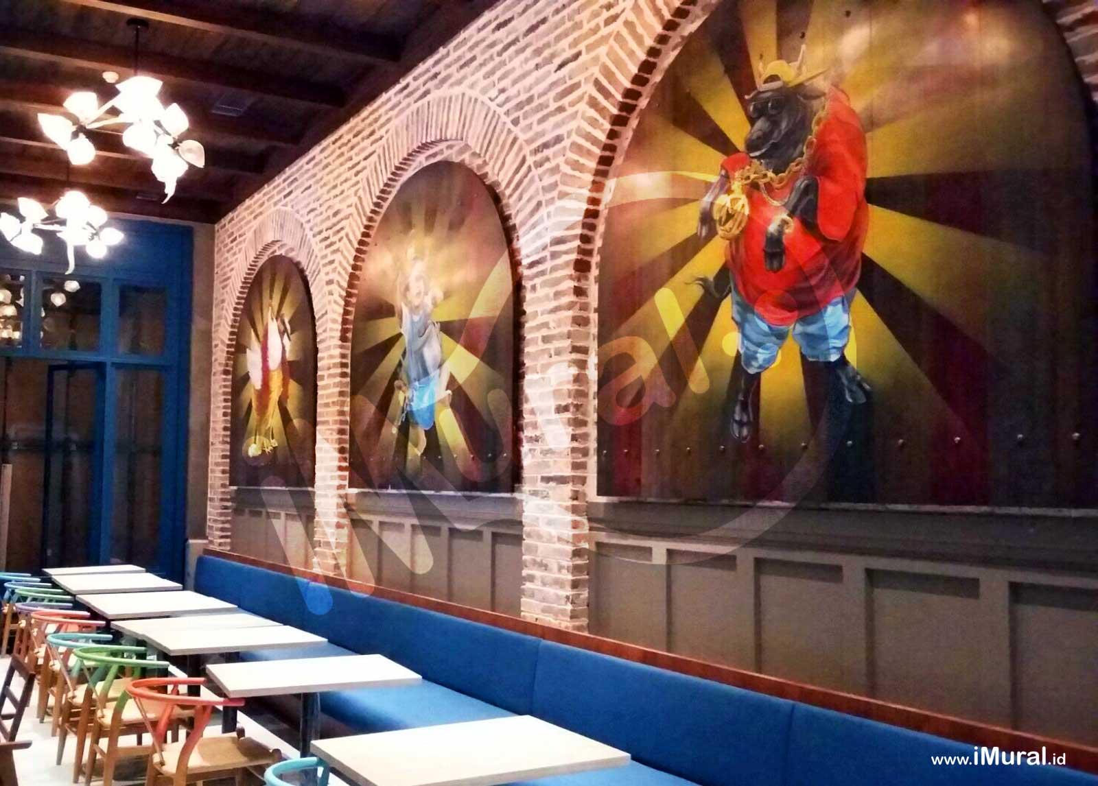 Marco Padang Pacific Place, Restoran Padang Dengan Dekorasi Interior Yang Unik
