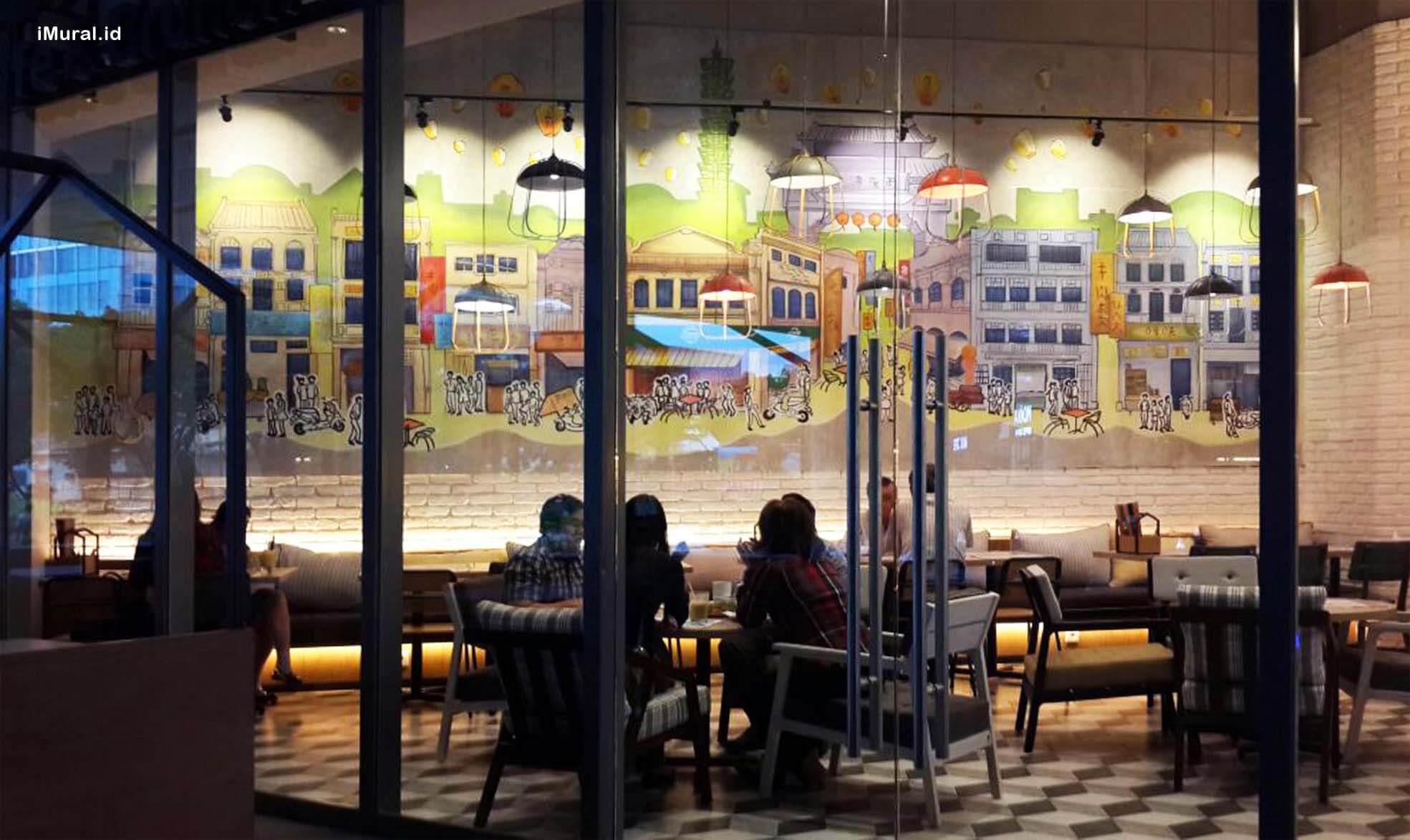 My Warm Day Lippo Mall Puri, Restoran Khas Taiwan Dengan Mural Yang Mempesona
