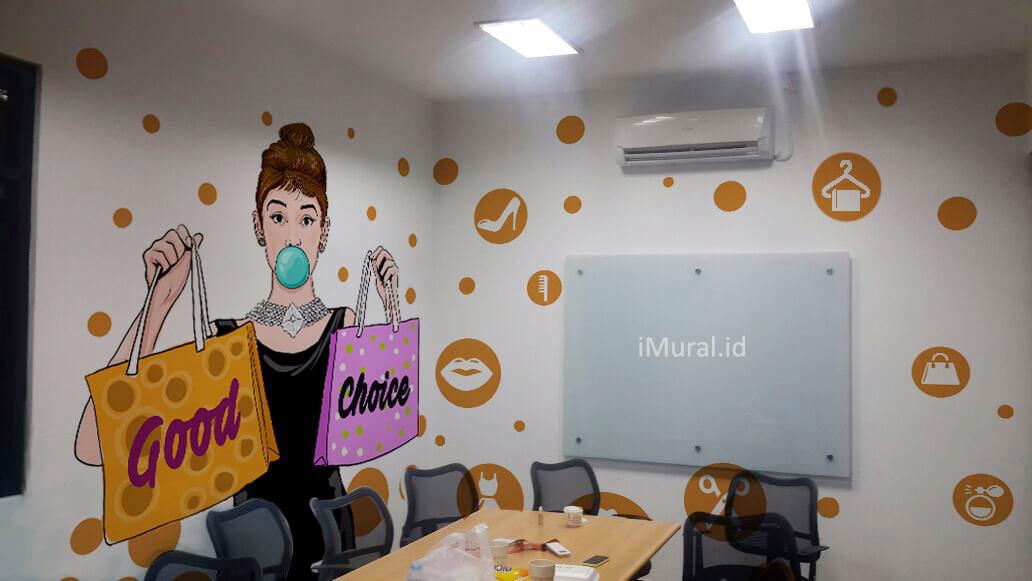 sale stock mural