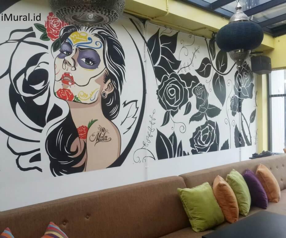 mural restoran di mula restoran