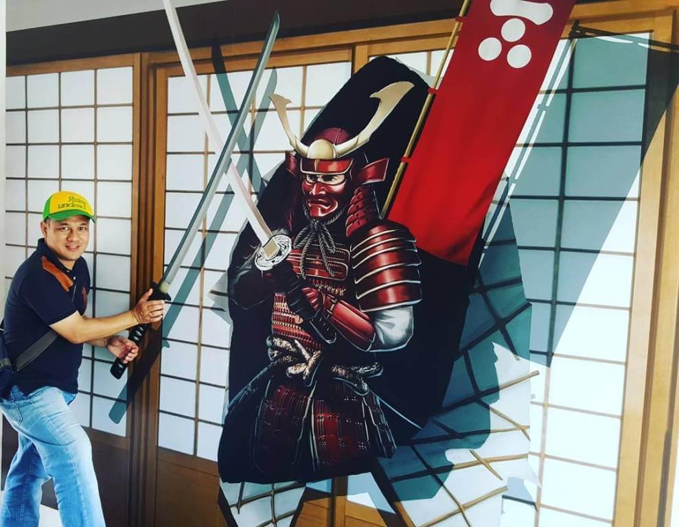 3D Trick Art Samurai
