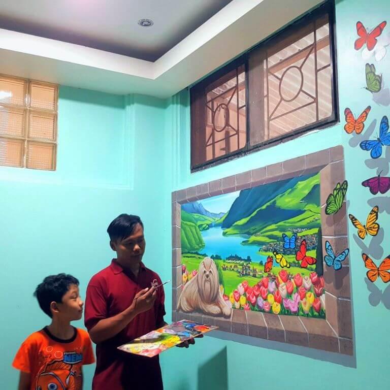 mural anak
