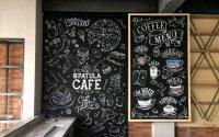 Dekorasi Cafe Bergaya Vintage Industrial, Ngopi Asyik ...