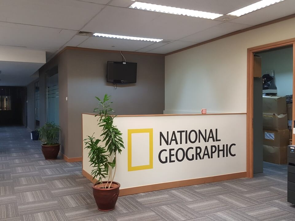 mural kantor national geographic